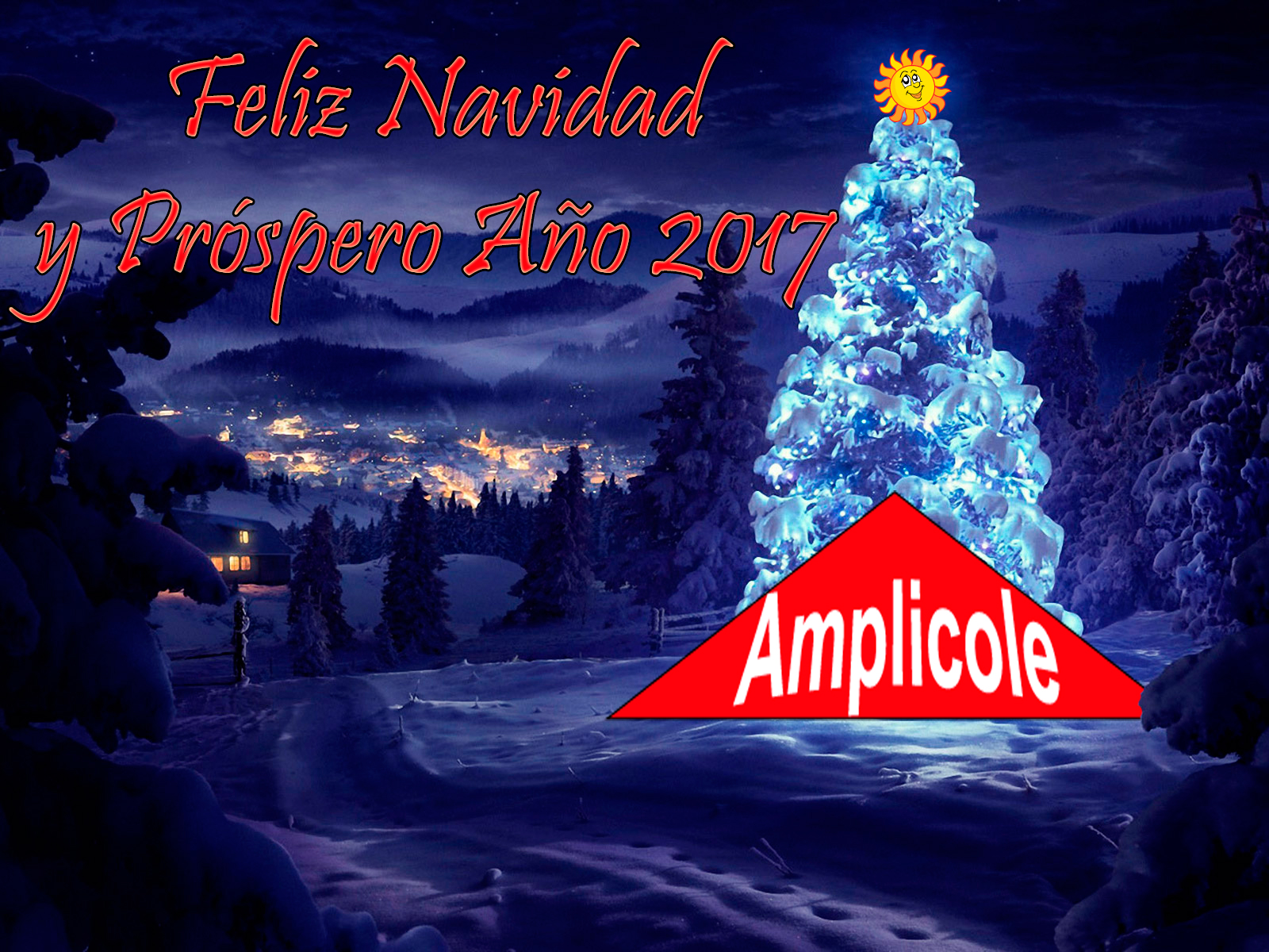 Felices Fiestas de Amplicole